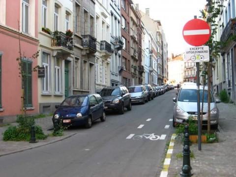 contra flow brusel