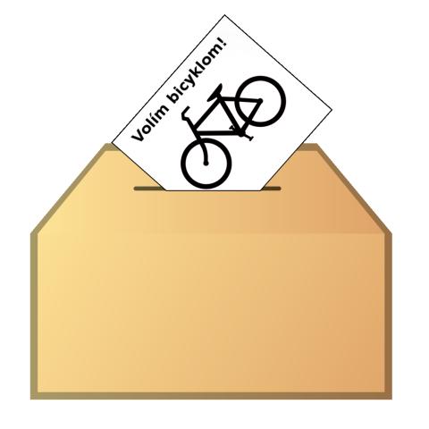 Volím bicyklom!