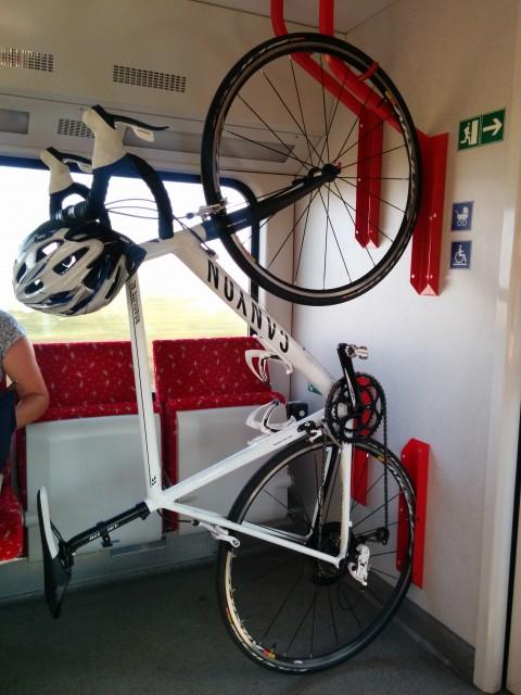 Preprava bicykla vo vlaku